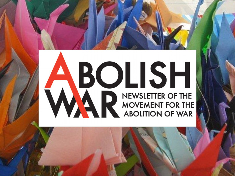 Abolish War newsletter