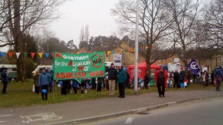Aldermaston demo, Easter 2013