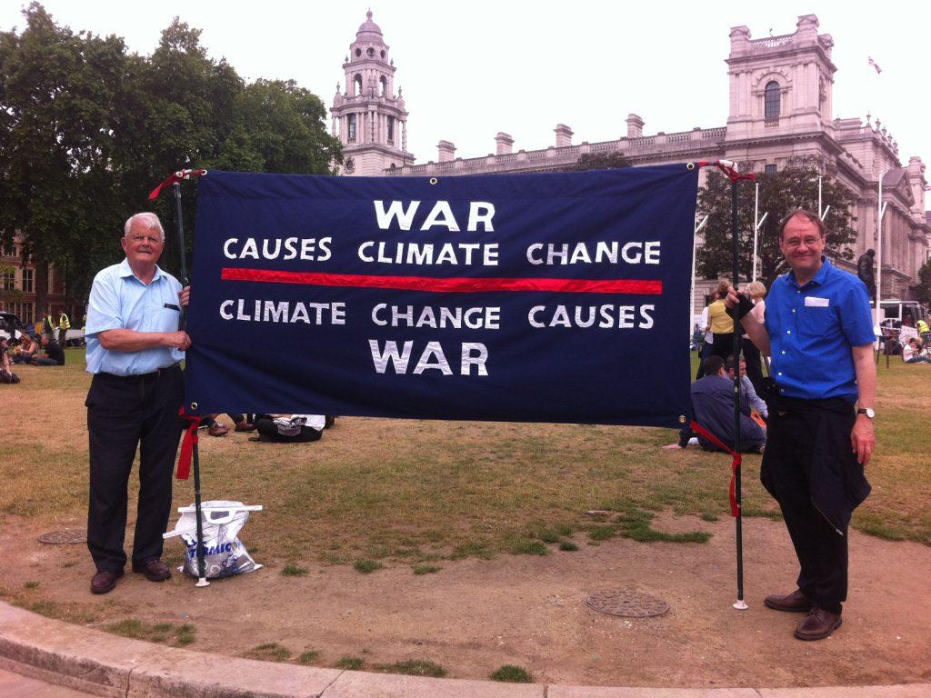 Climate Lobby 2015 - Tim Wallis & Bruce Kent