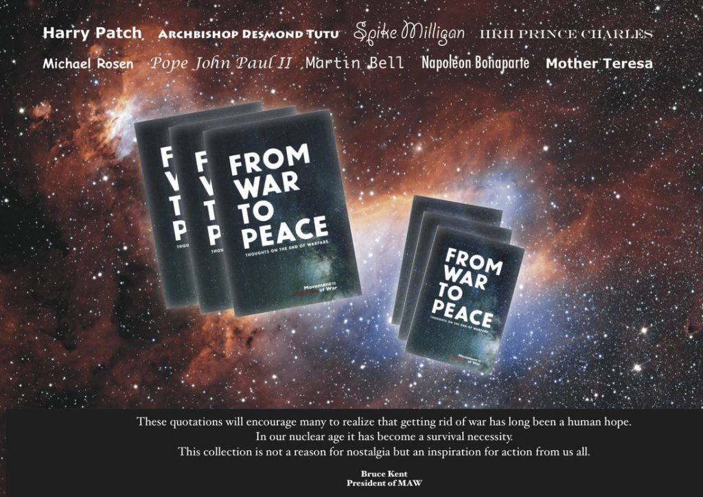 From War to Peace advert