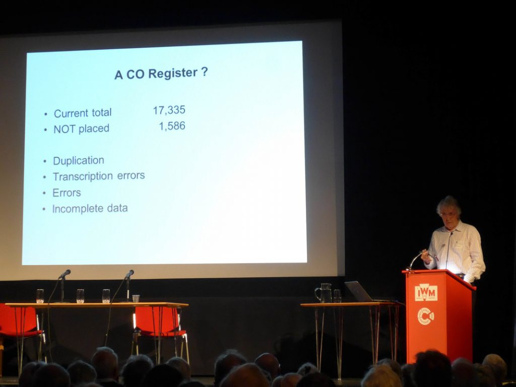 Peace History Conference: Cyril Pearce