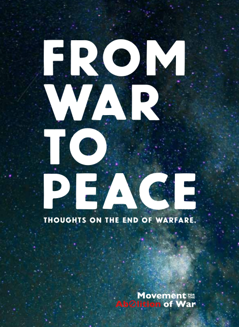 From War to Peace booklet of quotations