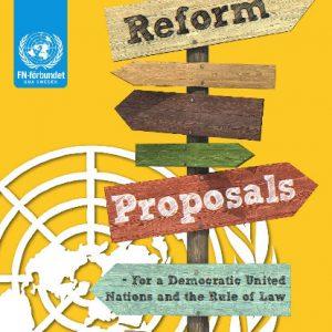 Product - Reform Proposals booklet