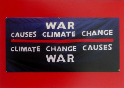 WAR CAUSES CLIMATE CHANGE