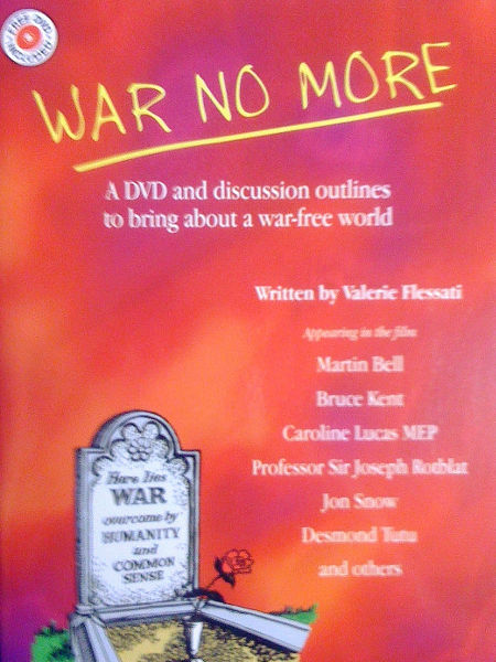 War No More – DVD and booklet of discussion outlines