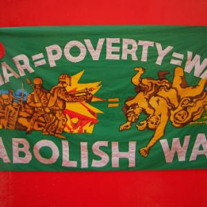 Product - War Poverty War postcard