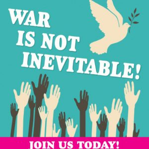 Product - We can get rid of war poster