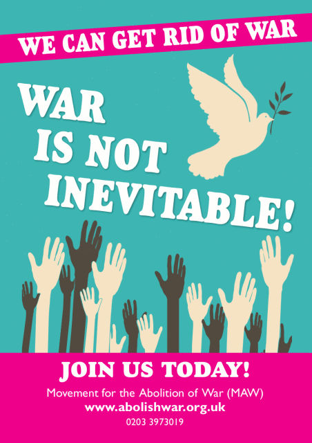 We can get rid of war
