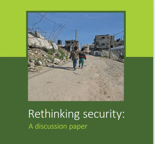 Rethinking security: A discussion paper