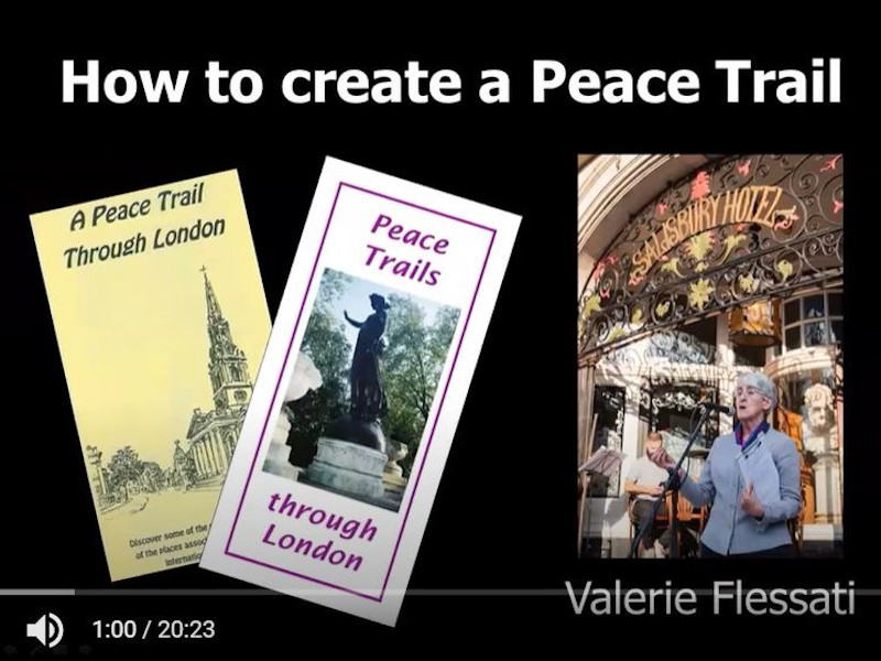 How to create a Peace Trail