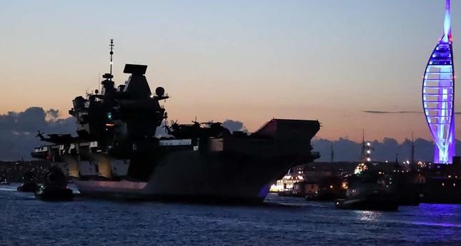 No matter how far HMS Queen Elizabeth sails, it won't make Britain great again